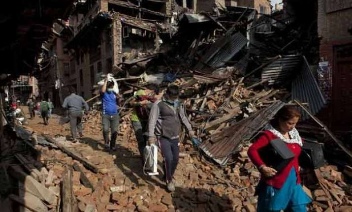 over 2 50 000 buildings damaged in nepal quake