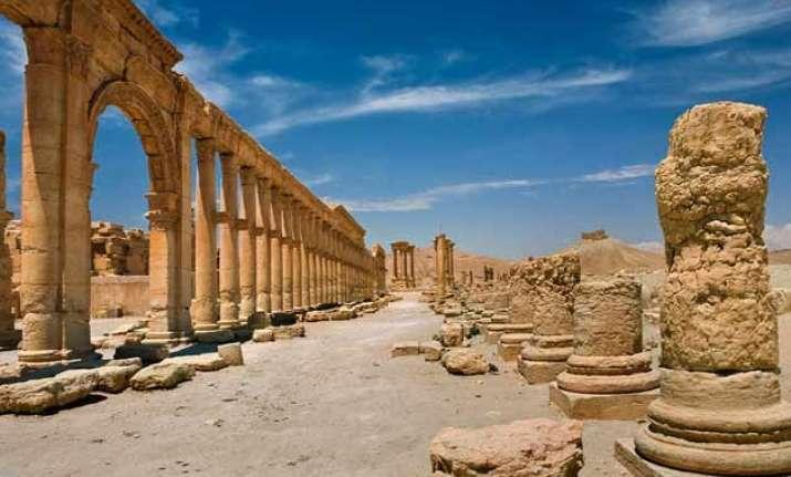 unesco calls for saving palmyra heritage site