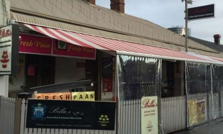 shot fired into busy indian restaurant in sydney