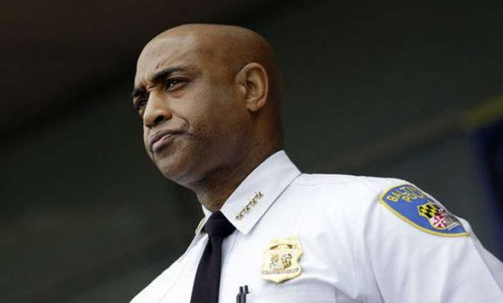 baltimore police chief fired over spike in violence