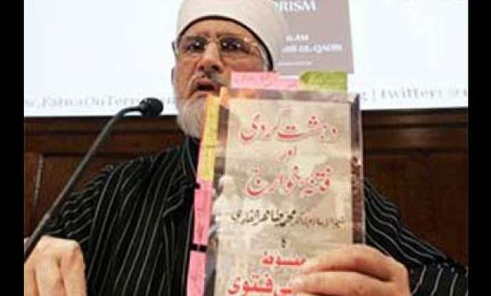 top muslim cleric to issue anti terrorism fatwa