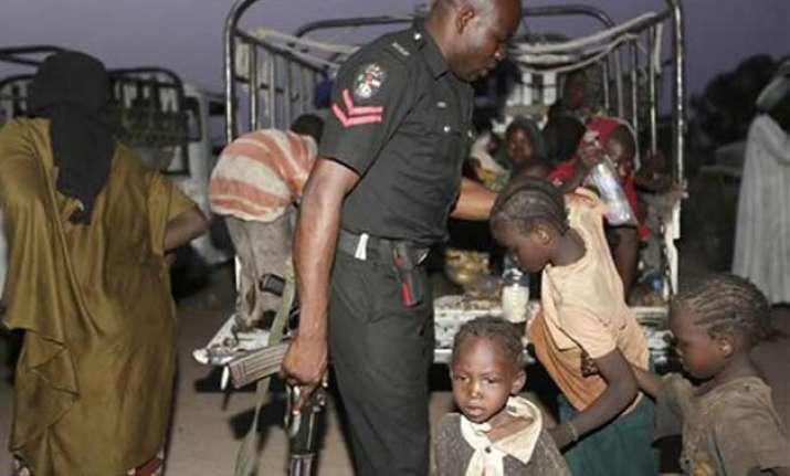 nigerian troops rescue 234 women children from boko haram