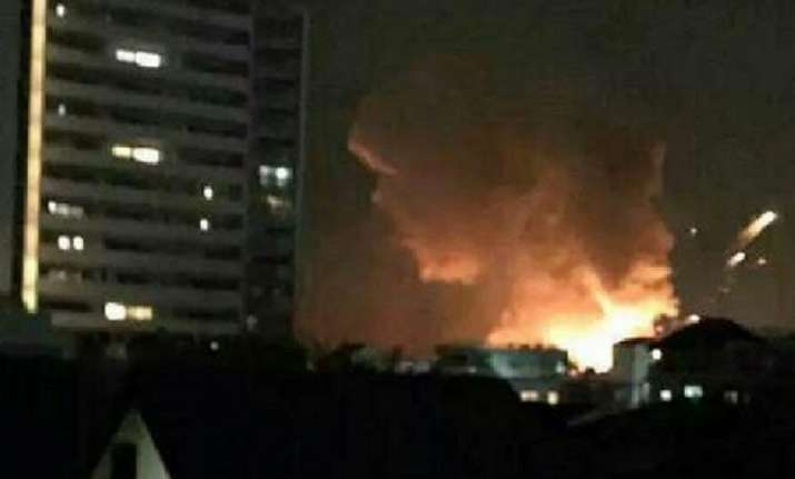 explosion at us army base in japan