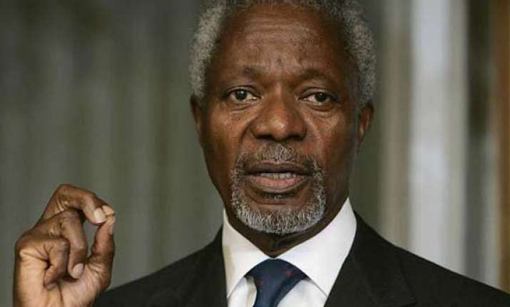 ebola neglected because it started in africa kofi annan