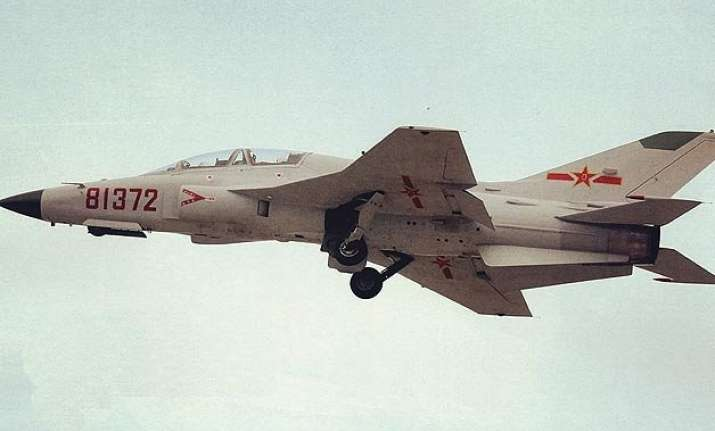 china deploys supersonic trainer aircraft for pilot training