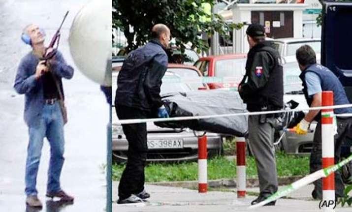gunman kills 7 in slovakia