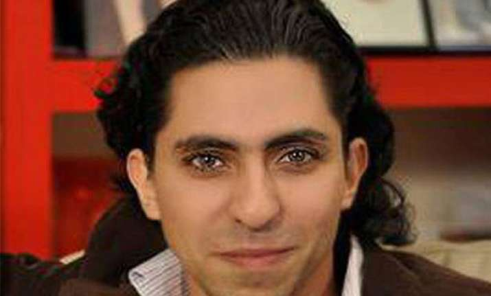 jailed saudi blogger wins eu rights prize but faces 1000