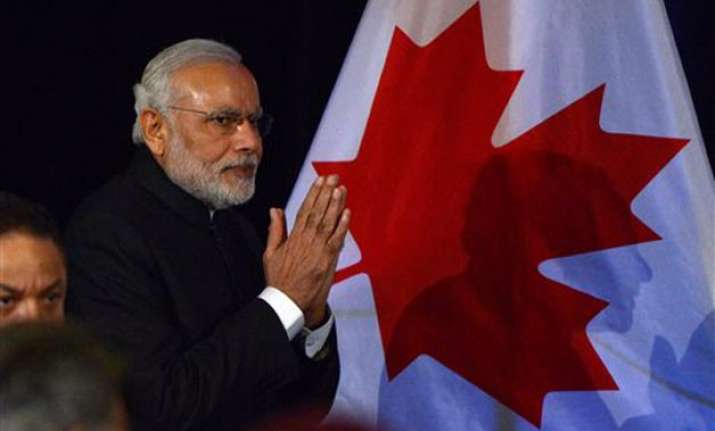 modi s visit to canada generated business worth 1.6 bn
