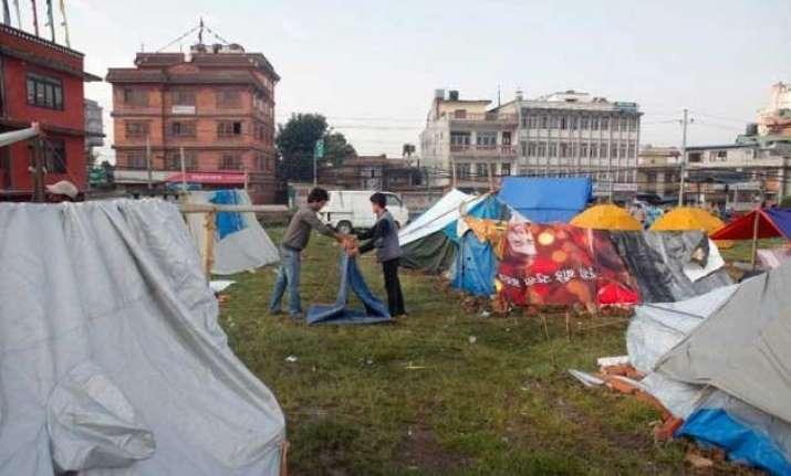 fear looms large as people of kathmandu return to homes