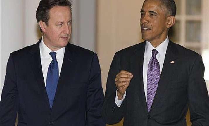 barack obama david cameron meet amid specter of terrorism