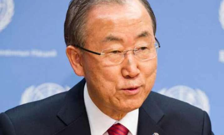 un chief urges resumption of israel palestine talks