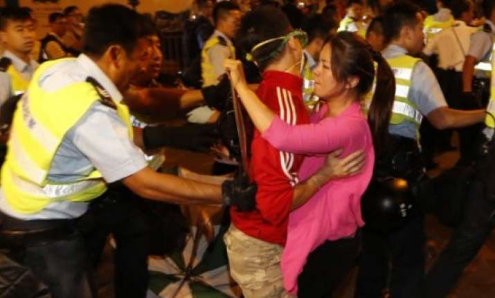 hong kong leader revives offer to talk as public anger grows