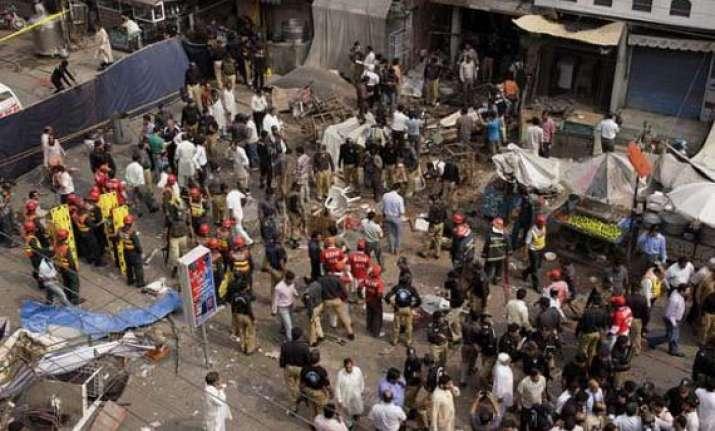 four killed 11 injured in grenade attacks in pakistan