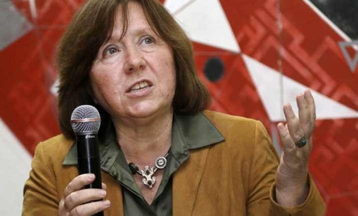 svetlana alexievich of belarus wins nobel literature prize