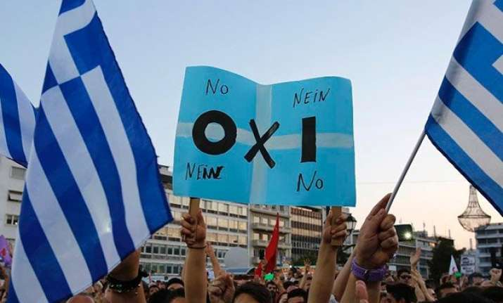 greek no vote widens gap with partners european commission