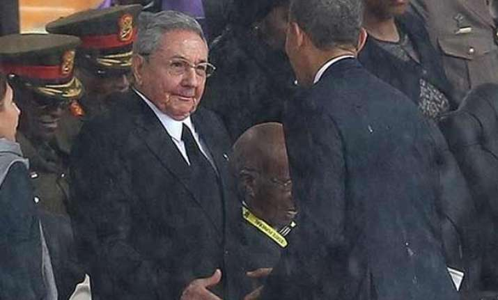 us president obama and his cuban counterpart raul castro to