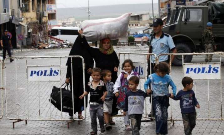 over three million flee syria since 2011 un