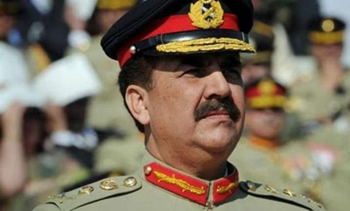 pak army chief taked serious notice of raw s activities