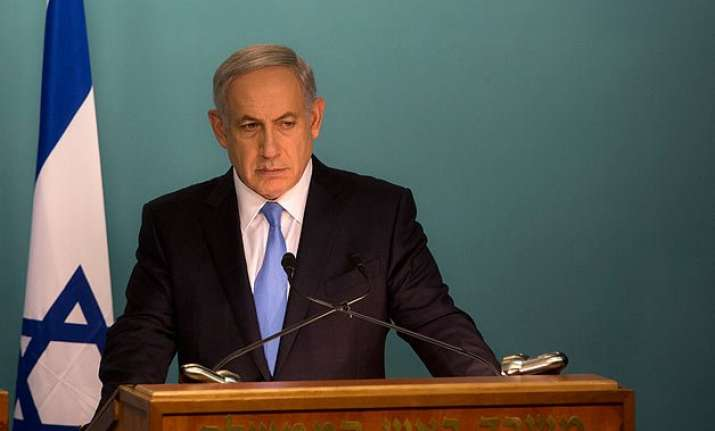 benjamin netanyahu causes uproar by linking palestinians to