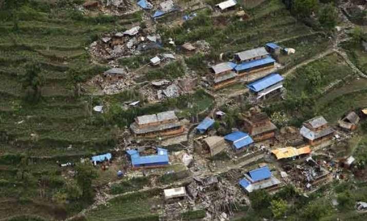 quake hit nepal at high risk of landslides in coming weeks