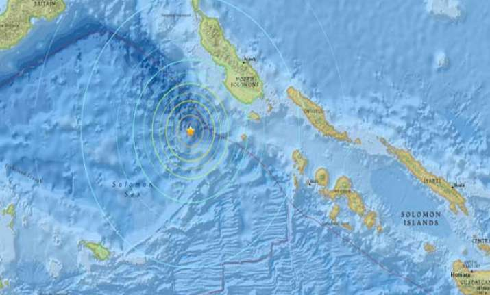 7.2 magnitude quake hits papua new guinea