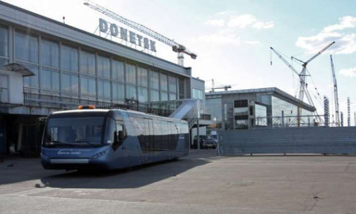 ukrainian troops claim control of donetsk airport