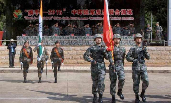 india china anti terror drill concludes pla seeks to boost