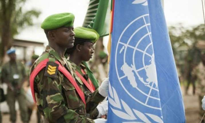 un peacekeeper kills 4 colleagues in central african