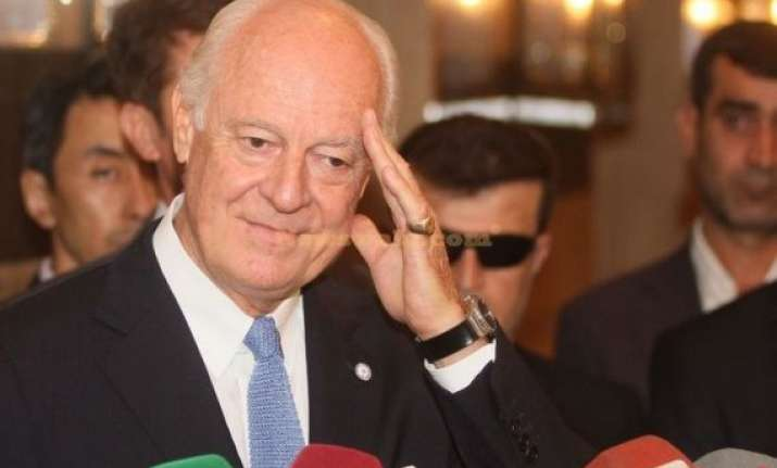 un envoy stresses political solution to syrian crisis