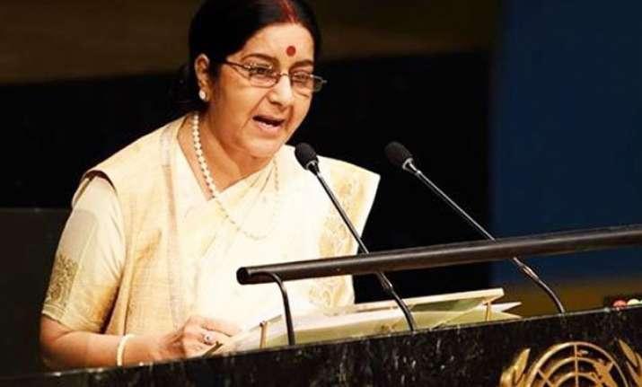 full text sushma swaraj hits back powerfully at pakistan