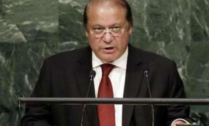 india rejects sharif s peace initiative to demilitarise