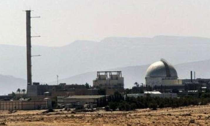 israel blames arab neighbours for stalling on nuke free zone