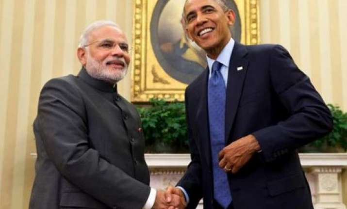 obama modi meet reflects depth of strong indo us ties white