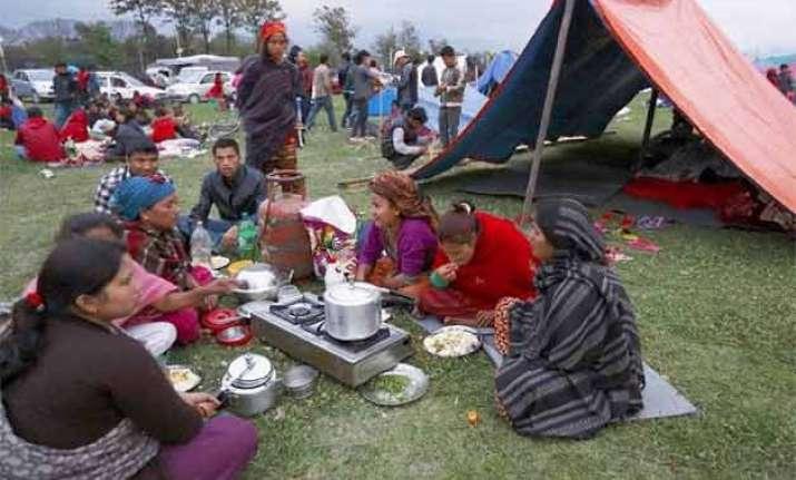 nepaldevastated life slowly moving to normalcy in kathmandu