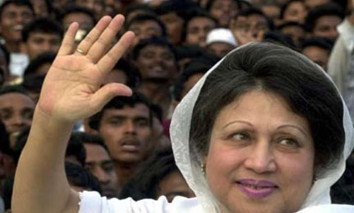 khaleda zia opposes transit deal with india