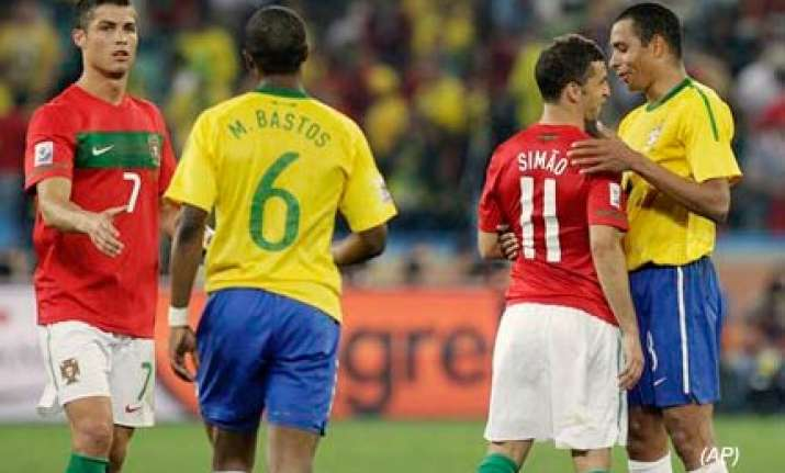 brazil top group g after listless 0 0 draw against portugal