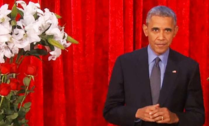 watch video barack obama woos wife michelle with valentine