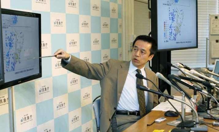 strong earthquake hits 2011 tsunami region in japan