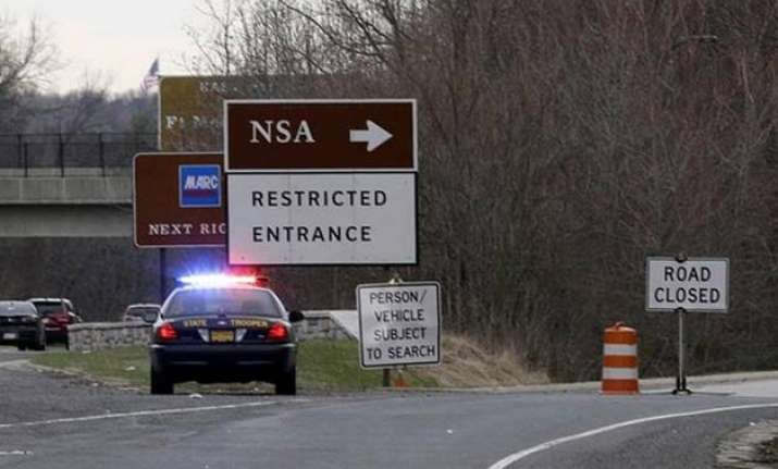 1 dead after car tries to ram nsa gate claims us officials