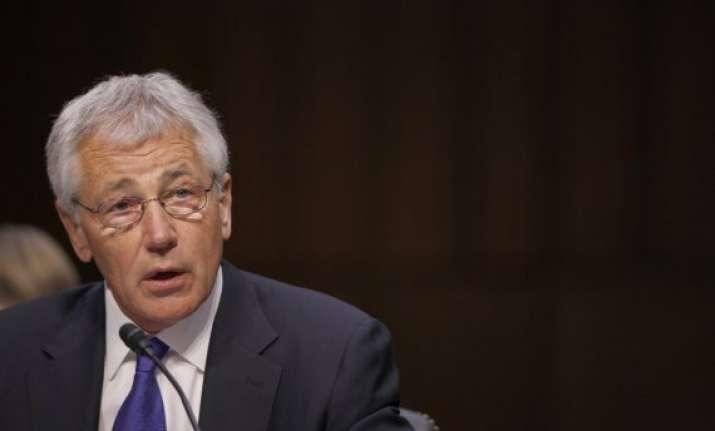 chuck hagel cites progress in turkey talks about syria