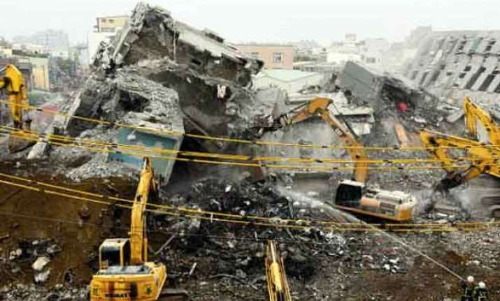 115 bodies pulled out from taiwan quake rubble 2 missing