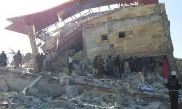seven die in attack on msf supported hospital in syria