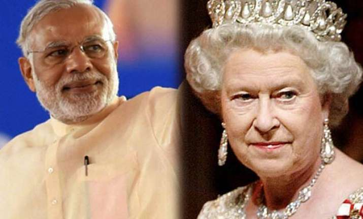 queen elizabeth set to host lunch for pm modi
