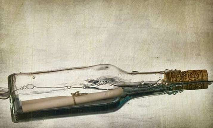 world s oldest message in a bottle found in germany