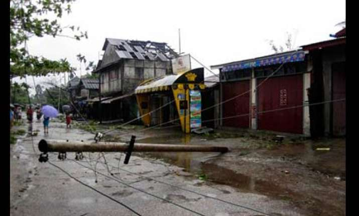 at least 27 dead after cyclone pounds myanmar state media