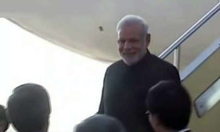 narendra modi s bandhgala look in japan gets praise