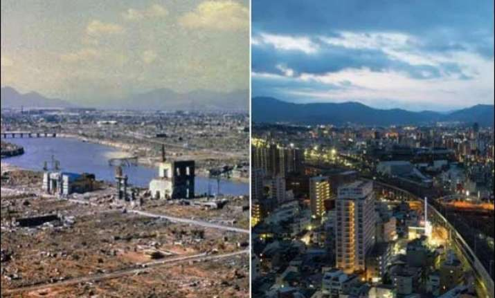 then now how hiroshima nagasaki look after 70 years of