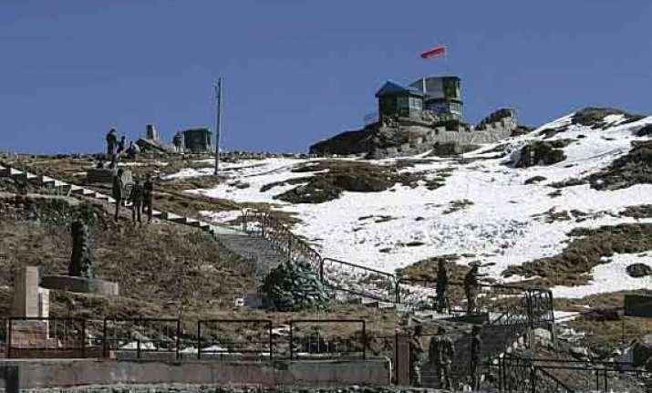 four dozen chinese centres monasteries along indian borders