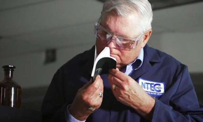 world s strangest job nasa employee who sniffs stuff before