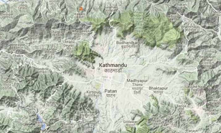 5.2 magnitude earthquake hits nepal tremors felt in parts